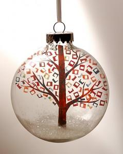 Une jolie boule de Noël