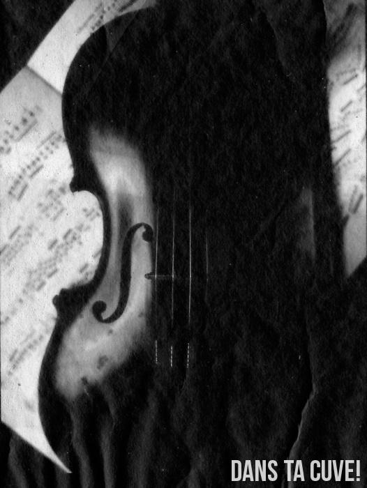 Le violon au Washi