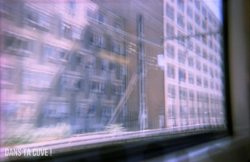 Un peu flou cette vue du RER faite au Konstructor