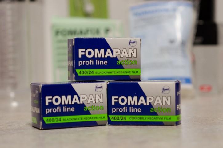 Pellicules Fomapan 400 - 24 poses