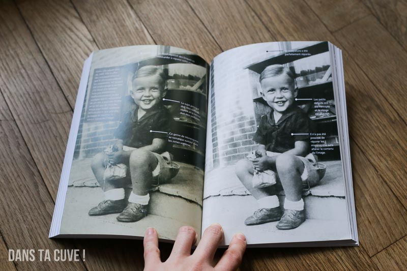 Un avant/après présenté dans le livre