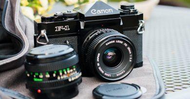 Test : Canon F1
